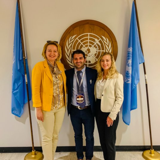 Dr. Manojlovic's workshop on environmental challenges and consensus building at the UN