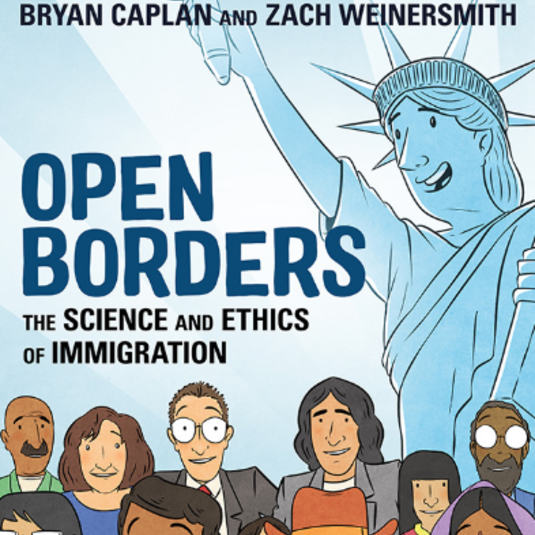 Caplan's Graphic Novel on Immigration a New York Times Bestseller