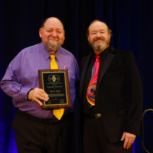 Gary Kreps Named 2019 Distinguished Scholar by the National Communication Association