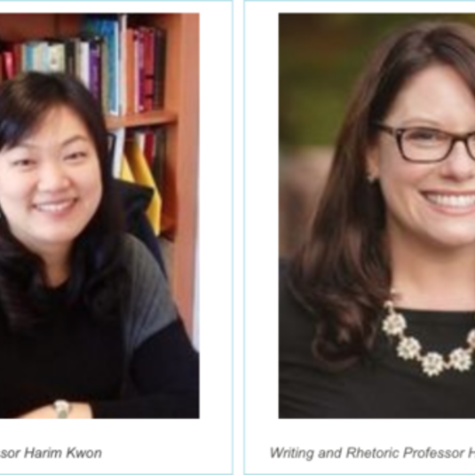 Professors Harim Kwon and Heidi Lawrence Selected as Winners of Summer Team Impact Projects