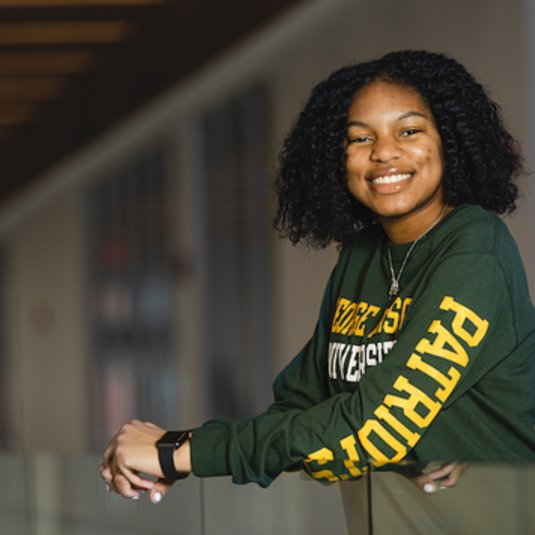 Criminology major wins Mason's Spirit of King Award