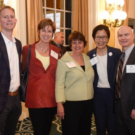 Criminology, Law and Society Professor Cynthia Lum Honored with 2020 Outstanding Faculty Award
