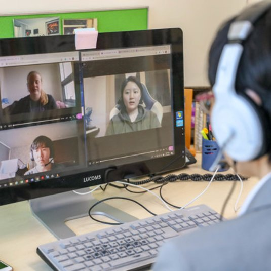 CHSS Faculty at Mason Korea Share Online Experience