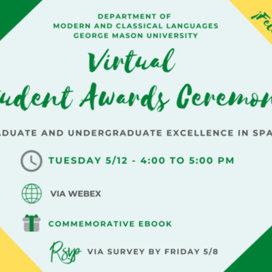 Virtual Student Awards Ceremony