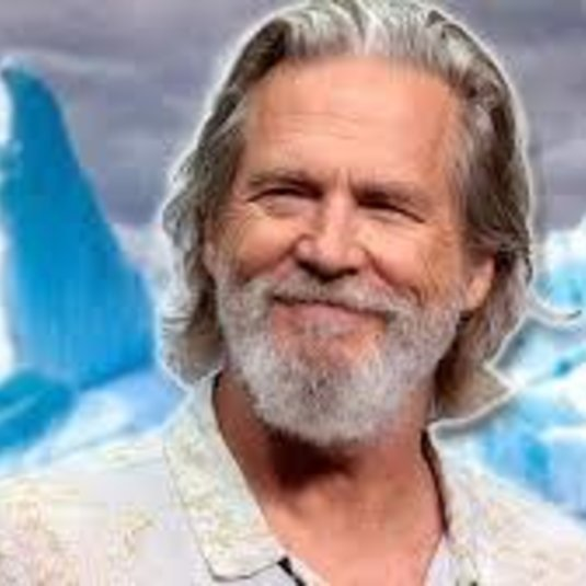 Inglis discusses climate change with actor Jeff Bridges