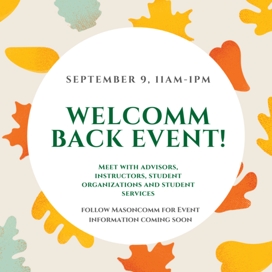 WelCOMM Back Virtual Event