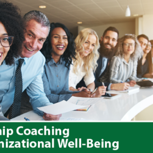 Leadership Coaching for Organizational Well-Being Virtual Open Houses on March 25 and May 18