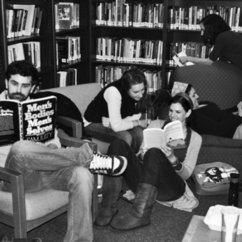Women and Gender Studies Center Library Featured in Broadside