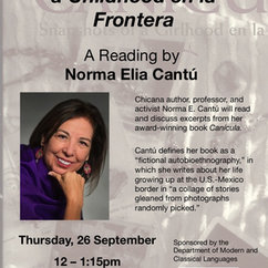Chicana author and folklorist Norma Elia Cantú to speak at George Mason