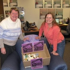 AAUW donates to Toiletry Drive