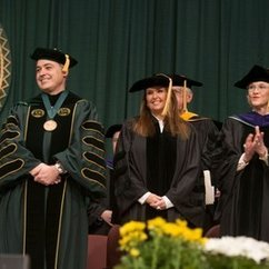 Mason's Convocation Speaker Shari Arison Urges Grads to Make an Impact