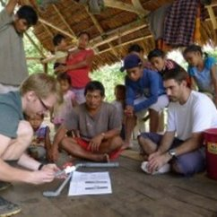 Mason Team Helps Maijuna with Clean Water Project in the Peruvian Amazon
