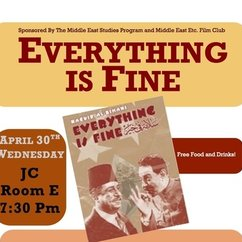 Film Screening: Everything Is Fine!