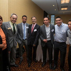 New Century College Alumnus Leonardo Pareja Honored at Mason's 2014 Celebration of Distinction