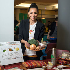 English Alum Heba Saleh's Farm-To-Table Business