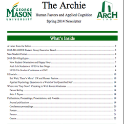 """The Archie"" Spring 2014"