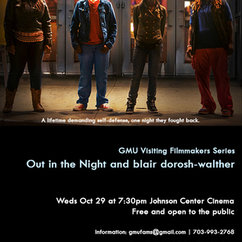 GMU Visiting Filmmakers Series: Out in the Night | JCC 29 October 2014, 7:30pm