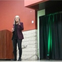 Amy Goodman Meets the Women and Gender Studies Team!