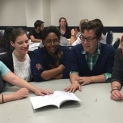 CLS Participates in Free Minds Write Night