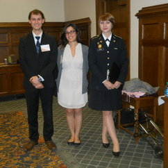 Mason Team Competes in CIA Simulation