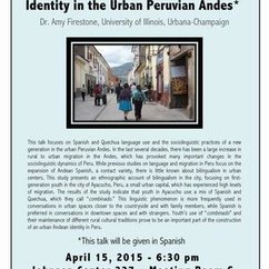 Hablamos combinado: Youth Talk and Identity in the Urban Peruvian Andes