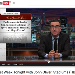 Econ Journal Watch Article Mentioned by John Oliver on HBO