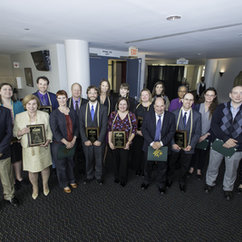 College Faculty Honored at 2016 Celebration of Teaching Excellence