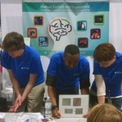 HFES Student Group Featured at USA Science and Engineering Festival