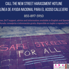 National Street Harassment Hotline is Available Now
