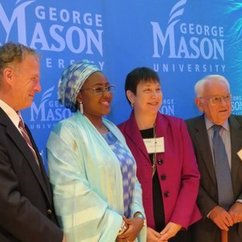 Nigeria's First Lady Visits George Mason University