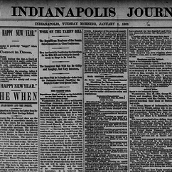 RRCHNM Faculty Use Digital Tools to Explore Historical Newspapers