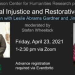 On Racial Injustice and Restorative Action: A Conversation with Leslie Abrams Gardner and Jimmie Gardner