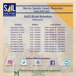 SAIL FALL 2018 Kiosk Days