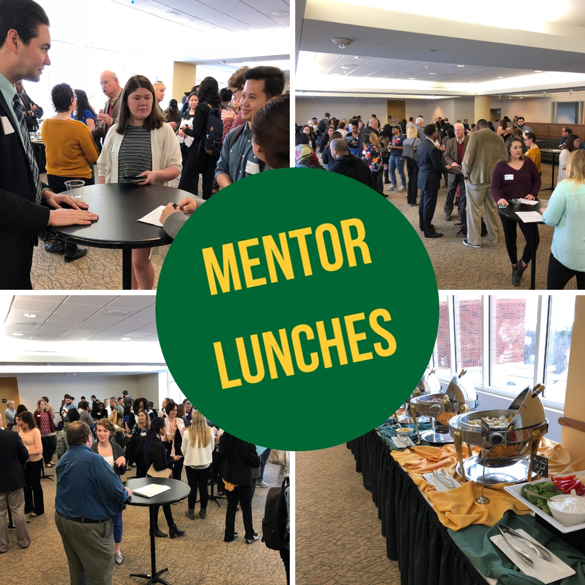 Mentor Lunch Collage