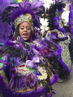 Mardi Gras Indian