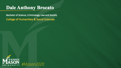 Graduation Slide for Dale Anthony Brocato