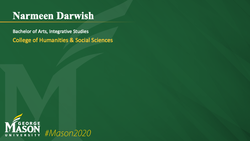 Graduation Slide for Narmeen Darwish