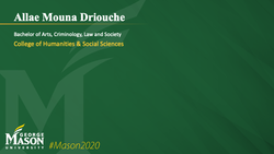 Graduation Slide for Allae Mouna Driouche
