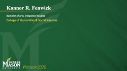 Graduation Slide for Konnor R Fenwick