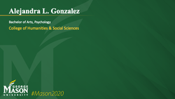 Graduation Slide for Alejandra L Gonzalez