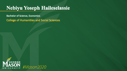 Graduation Slide for Nebiyu Yoseph Haileselassie