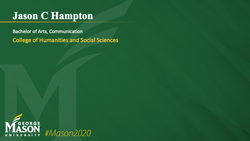 Graduation Slide for Jason C Hampton