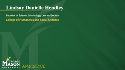 Graduation Slide for Lindsay Danielle Hendley