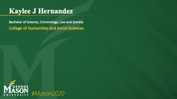 Graduation Slide for Kaylee J Hernandez