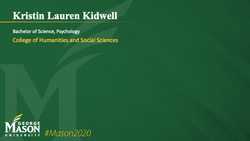 Graduation Slide for Kristin Lauren Kidwell