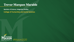 Graduation Slide for Trevor Marques Marable