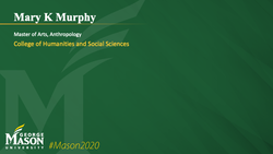 Graduation Slide for Mary K Murphy