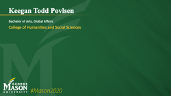 Graduation Slide for Keegan Todd Povlsen