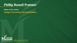 Graduation Slide for Phillip Russell Pratzner