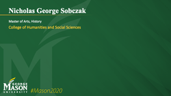 Graduation Slide for Nicholas George Sobczak